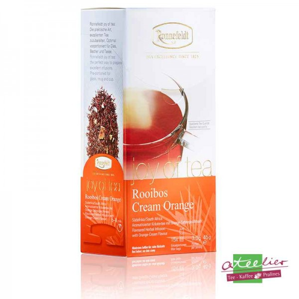 "Joy of Tea ""Rooibos Cream Orange"""