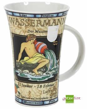 """Sternzeichenbecher """"Wassermann"""""""