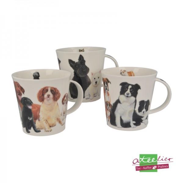 "Dunoon Becher ""Dogs & Puppies"", Cairngorm, 0,48 l"