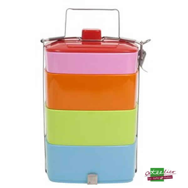 "Lunch Box ""Melamine"", Multicolour"