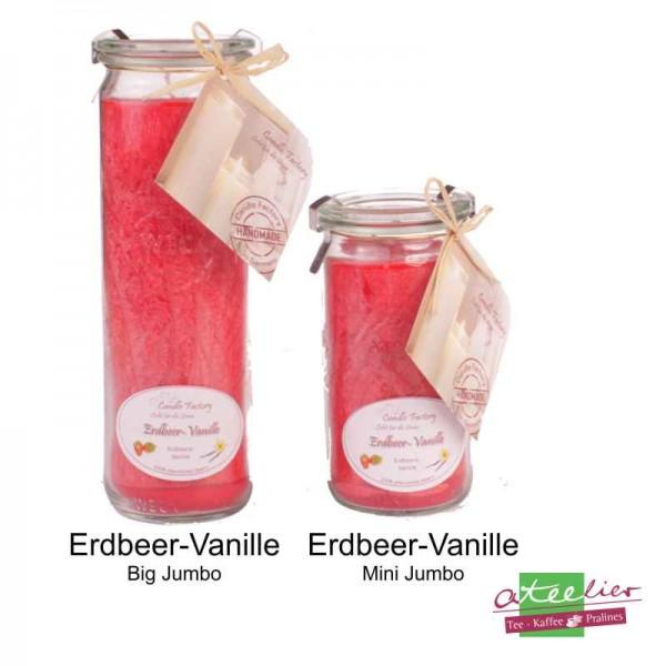 """Duftwindlicht """"Rot"""", mit Erdbeer-Vanille Duft"""