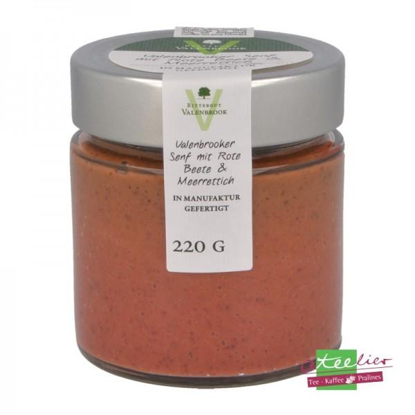"Senf ""Rote Beete & Meerettich"", 240 g"