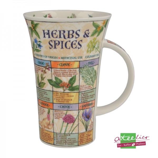 "Becher ""Herbs & Spices"", Glencoe, 0,5 l"