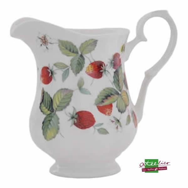"""Milchkrug """"Erdbeeren"""", 0,6l"""
