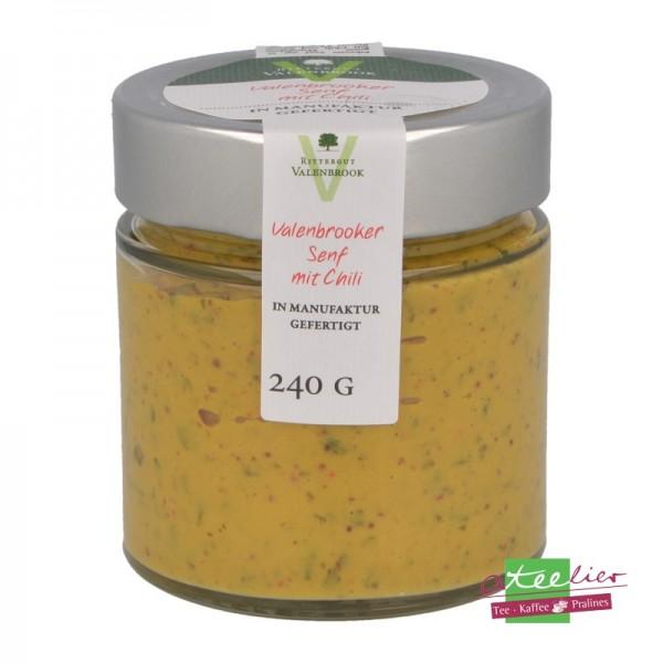 """Senf """"Chili"""", 240 g"""