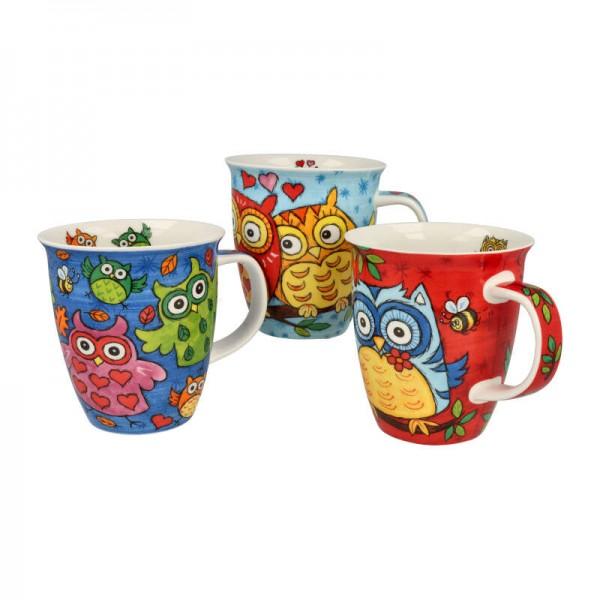 """Dunoon Becher """"Owls"""", Nevis, 0,48 L"""