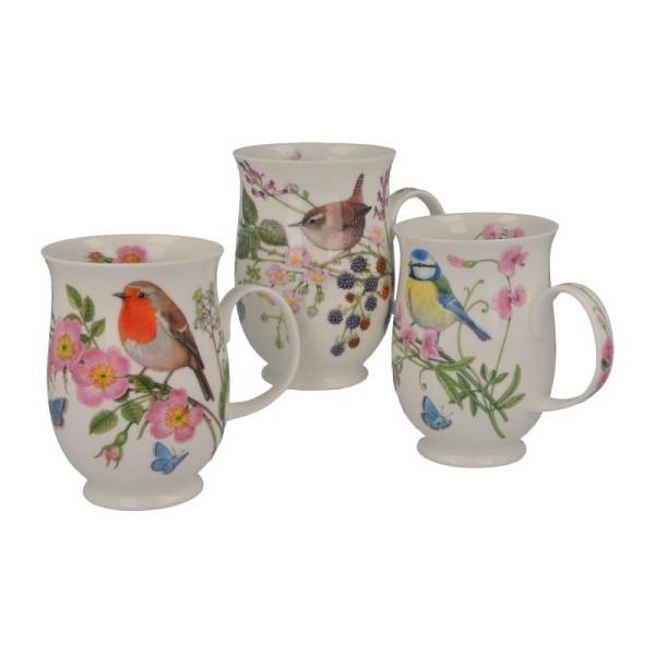 """Dunoon Becher """"Hedgerow Birds"""", Suffolk, 0,31 l"""