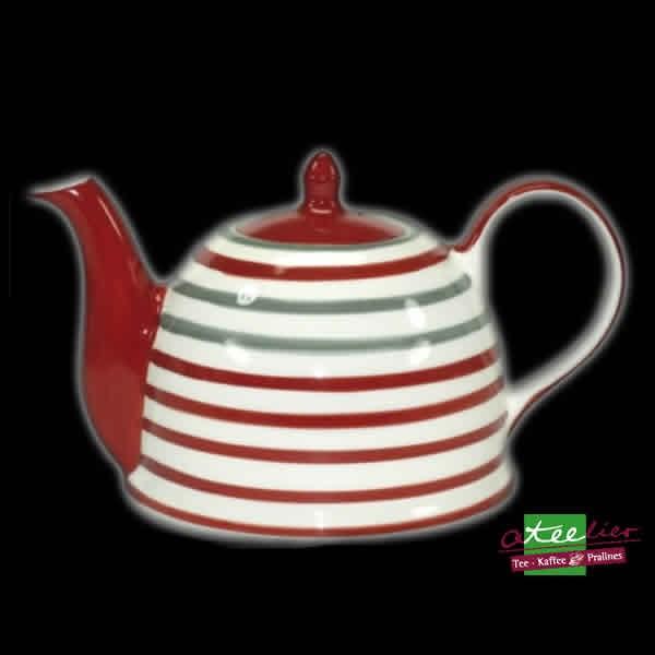 """Teekanne """"Circles Red+Grey"""", 1,7 l"""