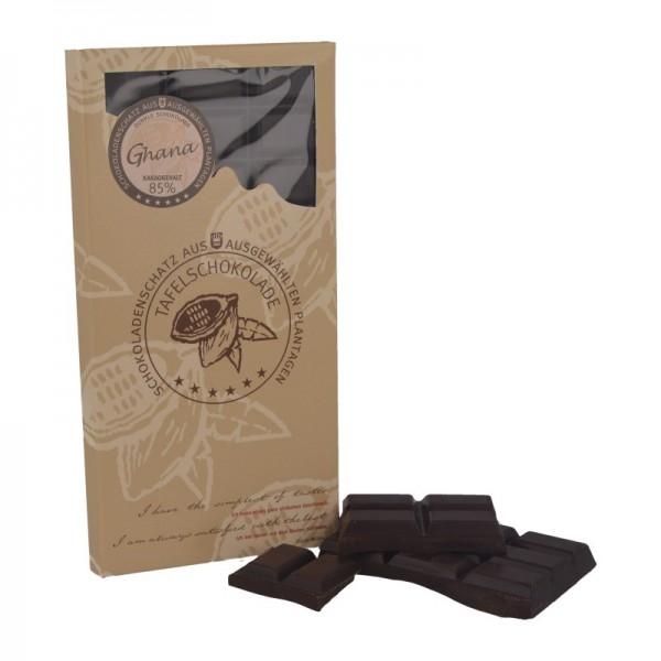 "DreiMeister Plantagen-Schokolade ""Ghana"" 100 g"