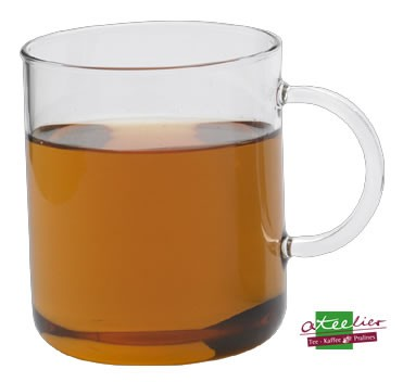 "Tasse ""Office"", Glas, 0,4 l"