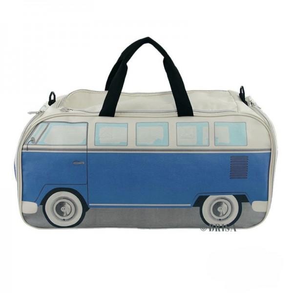 """""""VW T1 Bus""""-Sporttasche, Neopren, Blau/Beige - Sale Ausstellungsstück"""