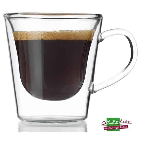 "Glas ""Duo"", Espresso, doppelwandig, 120ml"