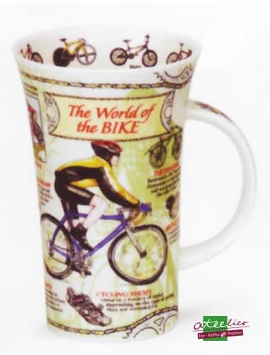 "Becher ""World of the Bike"", Glencoe, 0,5 l"