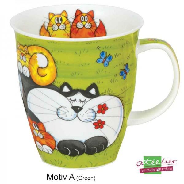"""Becher """"Cats & Kittens"""", Nevis, 0,48 l"""