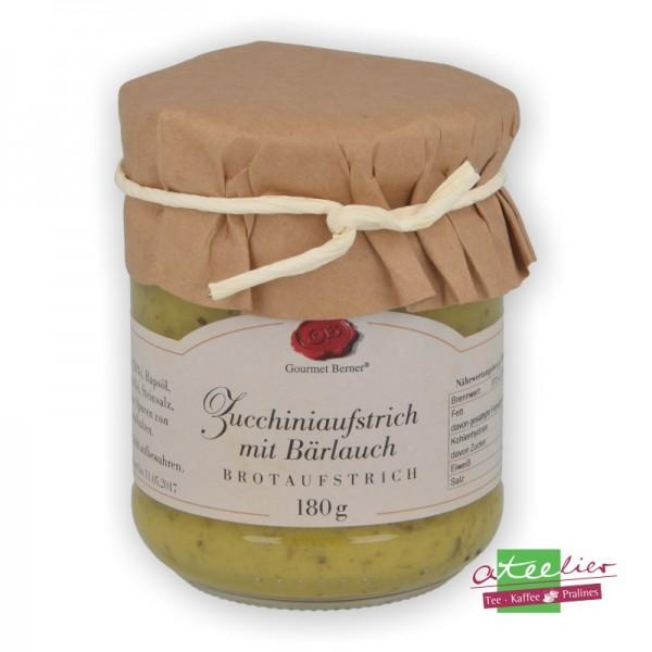 Zucchiniaufstrich mit Bärlauch, 180g