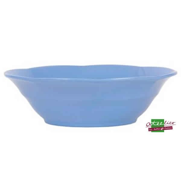 "Schale ""Melamine"", 19cm, dusty blue"