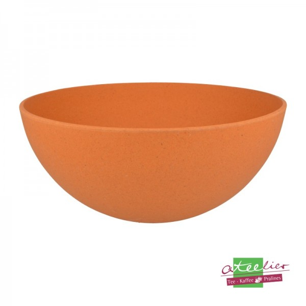 "Schüssel ""Natur-Design"", 24 cm, orange"