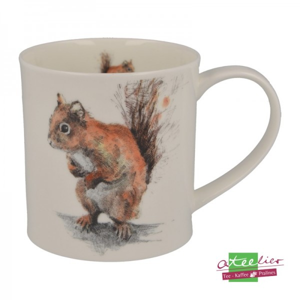 """Dunoon Becher """"H Longmuir Collection"""", Orkney, 0,35 L, Red Squirrel"""