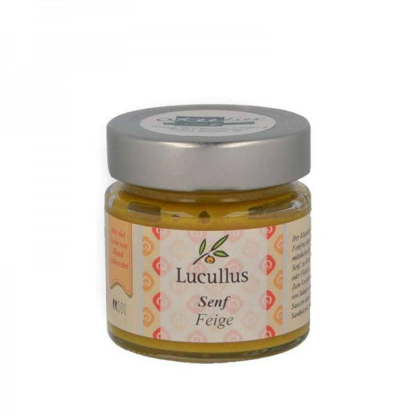 "Lucullus Senf ""Feige"", 115 ml"