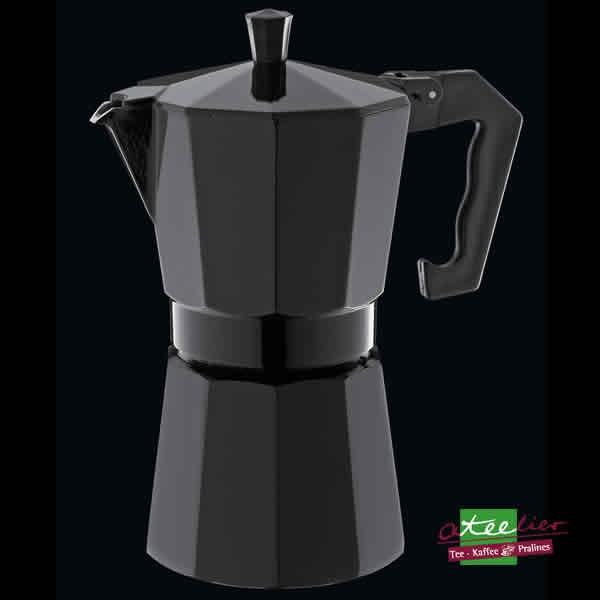 """Espressokocher """"Classico"""", 6 Tassen, schwarz"""