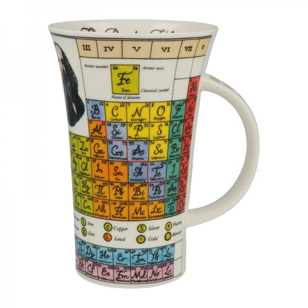 """Dunoon Becher """"Periodic Table"""", Glencoe, 0,5 L"""