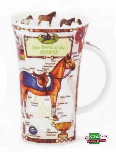"""Becher """"World of Horse"""", Glencoe, 0,5 l"""
