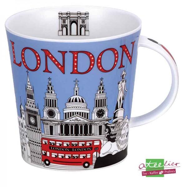 """Becher """"Glorious London"""", Cairngorm, 0,48 l"""