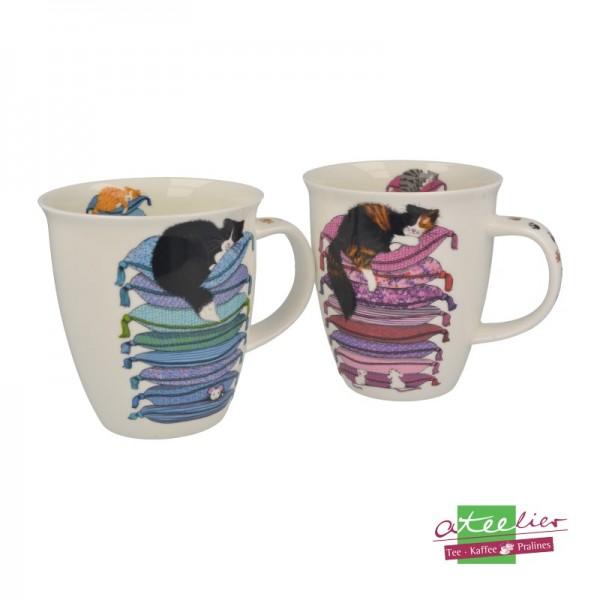 """Becher """"Sleepy Cats"""", Nevis, 0,48 l"""