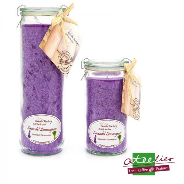 """Duftwindlicht """"Violett"""", mit Lavendel-Lemongras Duft"""