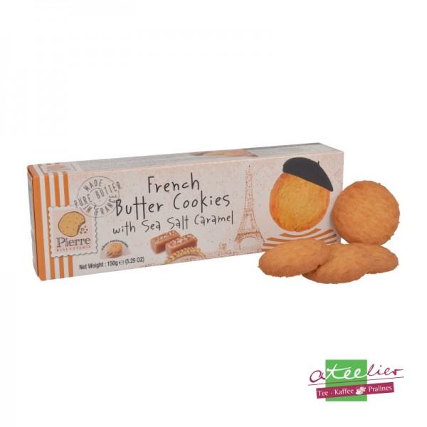 """French Butter Cookies """"Meersalz & Karamell"""", 150 g"""