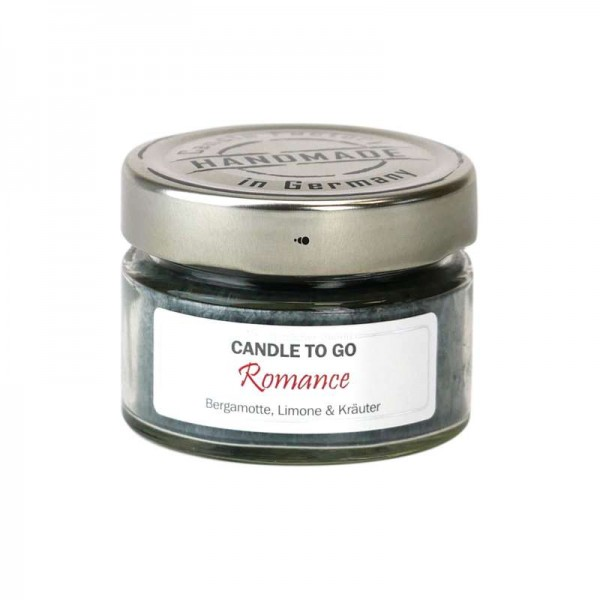 """Candle to go """"Romance"""""""