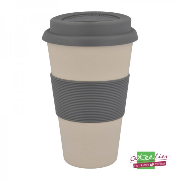 "Coffee to go Becher ""Natur-Design"", Urban-Grey"