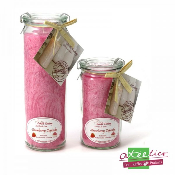 """Duftwindlicht """"pink"""", mit Strawberry Cupcake Duft"""