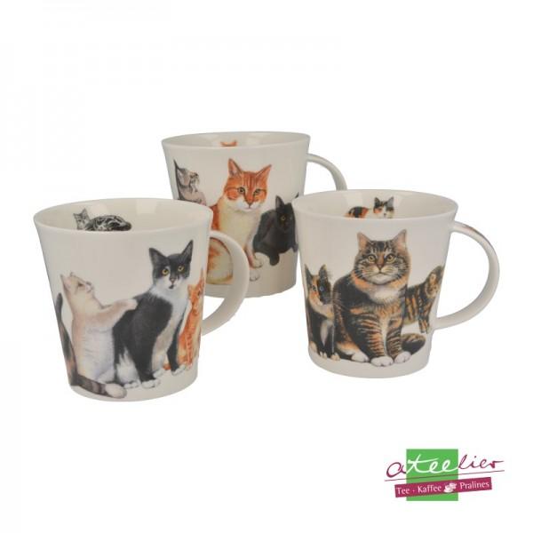 """Becher """"Cats & Kittens"""", Cairngorm, 0,48 l"""